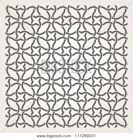 Decorative seamless islamic pattern. Vector image.