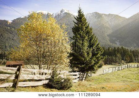 Alpine Scenery In Austria Tirol