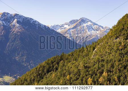 Alpine Landscape In The Tirol, Austria