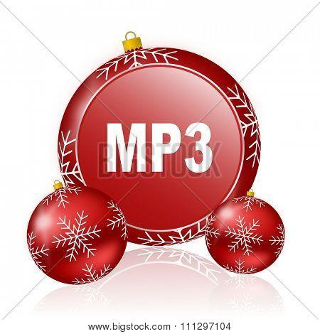 mp3 christmas icon