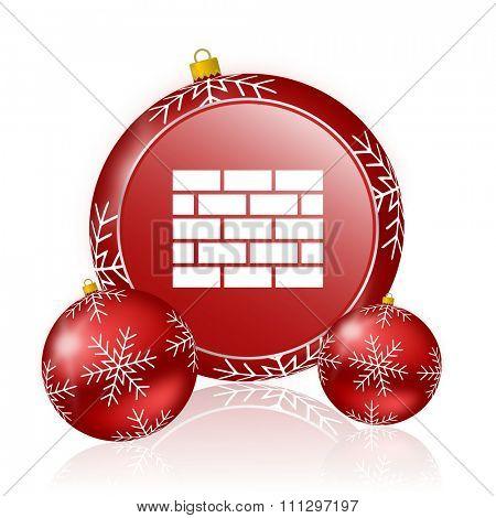 firewall christmas icon