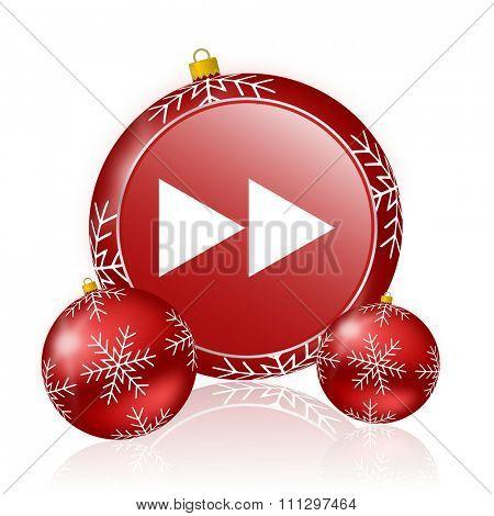 rewind christmas icon