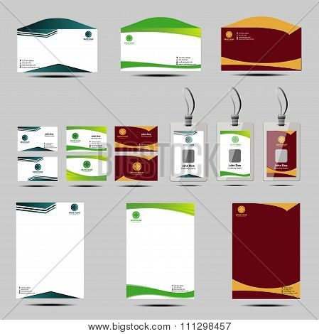Business style templates letterhead