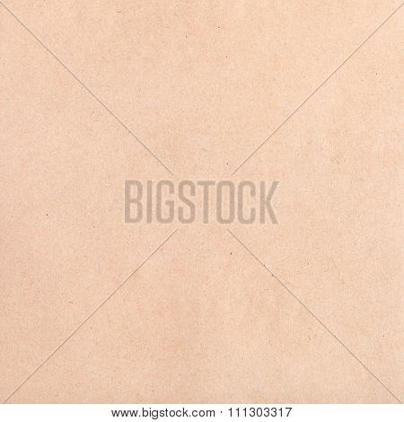 Square Brown Crumpled Kraft Paper