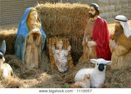 Nativity Closeup