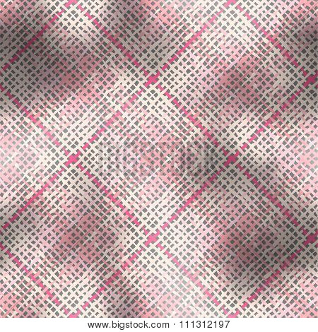Abstract plaid background