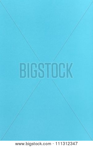 Light Blue Colored Vertical Sheet Of Paper