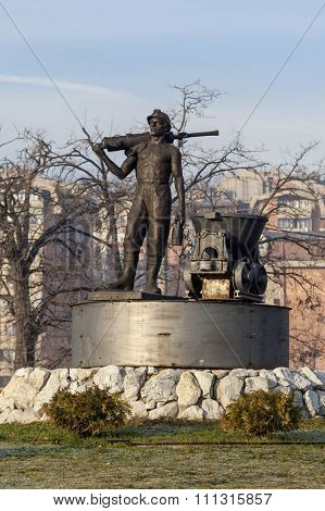Statue Of Miner 2