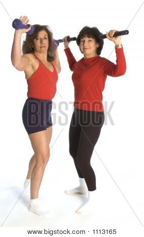 Women Exercising