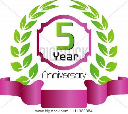 Celebrating 5 Years Anniversary