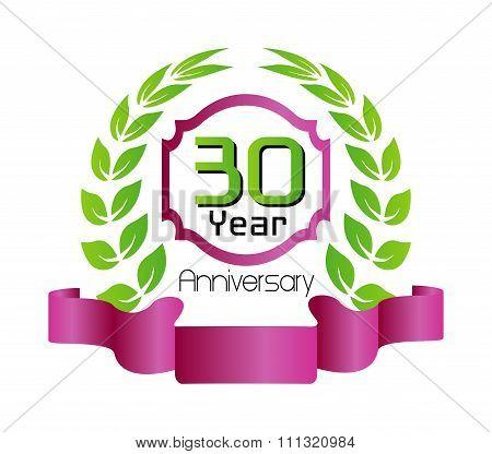 30 years Anniversary