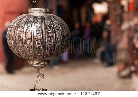 Metal Lamp Shade Marrakech
