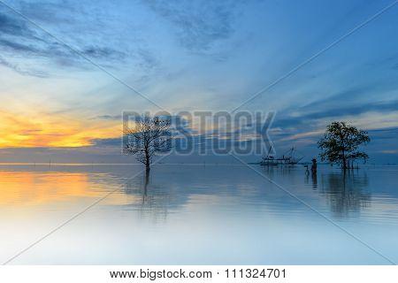 Sunrise at Pakpra