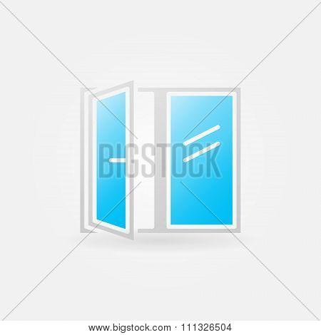 Glossy window icon