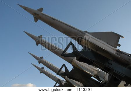 Anti Aircraft Rocket 5B27