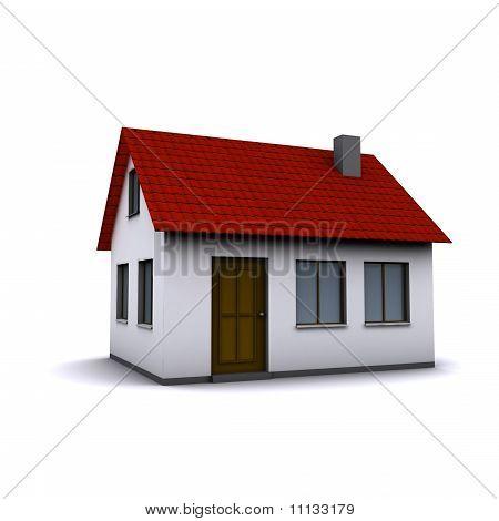 small three-dimensional house