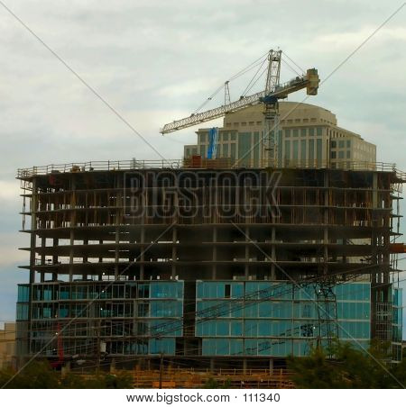 Office Building Under Construction 2