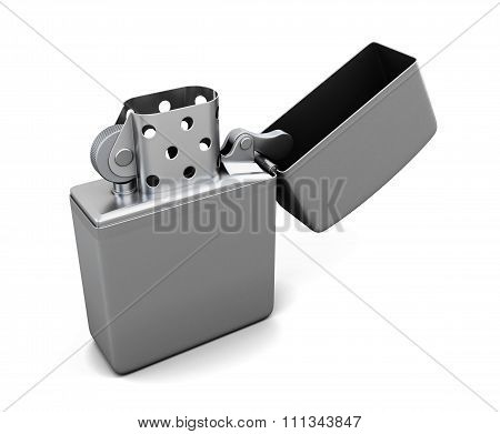 Lighter Isolated On White Background. 3D