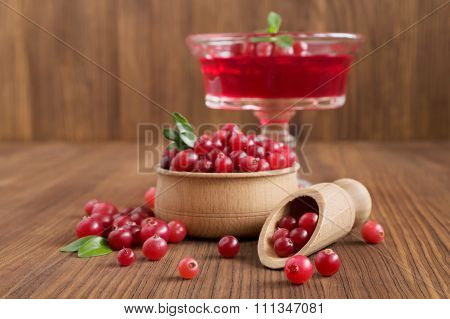 Cranberry Jelly Dessert