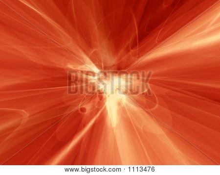 Emaranhado de vermelho atômico