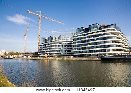 New Apartment Buildings, Hasselt, Belgium