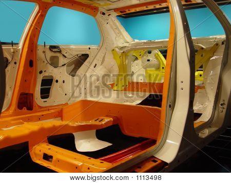Ribbed Car