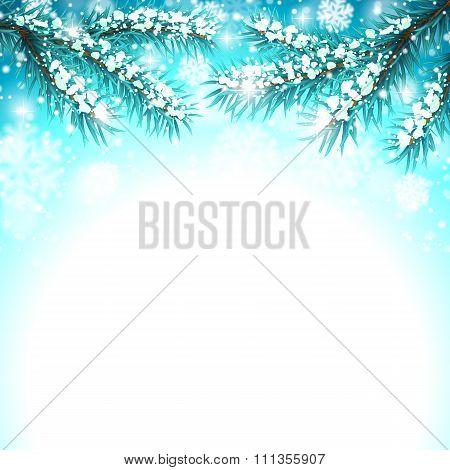 Winter Snow Background