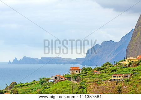 Near Faial, In The North Of Madeira