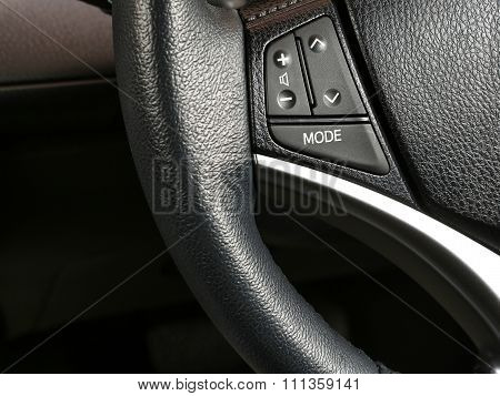 comfort switches in a car
