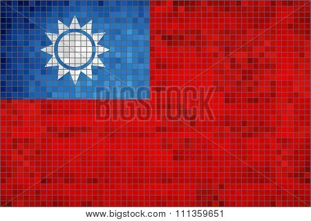Flag Of Taiwan.eps