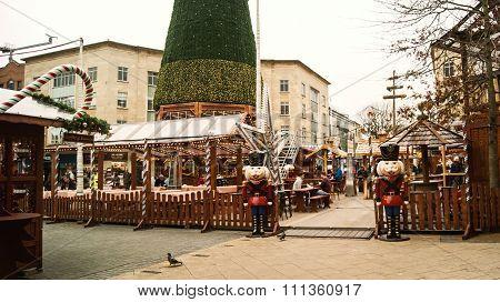 The original Bristol German Christmast market
