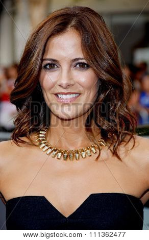 Rebecca Budig at the Los Angeles premiere of