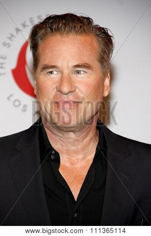 Val Kilmer at the 23rd. Annual Simply Shakespeare held at the Broad Stage in Santa Monica, California, United States on September 25, 2013.