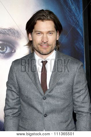 Nikolaj Coster-Waldau at the Season 3 Premiere of HBO's