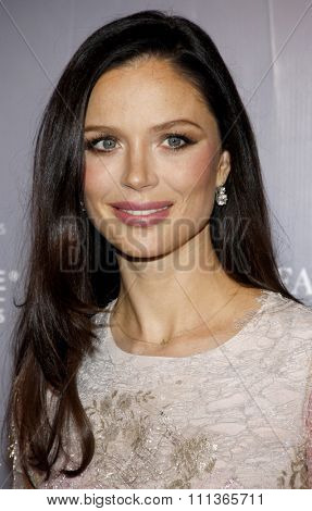 Georgina Chapman at the Rodeo Drive Committee Inducts Catherine Martin Into The Rodeo Drive Walk Of Style held at the Greystone Mansion in Los Angeles on February 28, 2014 in Los Angeles.