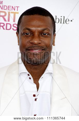 Chris Tucker at the 2013 Film Independent Spirit Awards held at the Santa Monica Beach in Los Angeles, California, United States on February 23, 2013.