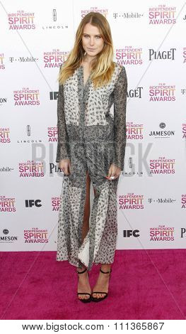Dree Hemingway at the 2013 Film Independent Spirit Awards held at the Santa Monica Beach in Los Angeles, California, United States on February 23, 2013.