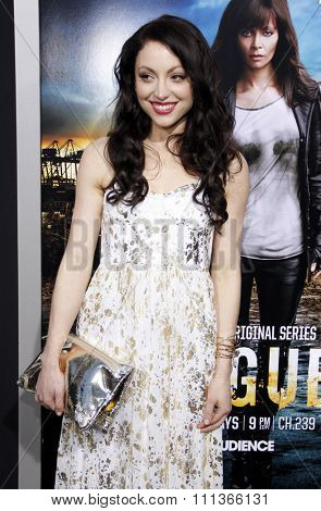 Leah Gibson at the Los Angeles Premiere of