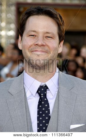 Ike Barinholtz at the Los Angeles premiere of