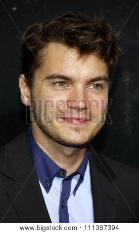 Emile Hirsch at the Los Angeles Premiere of