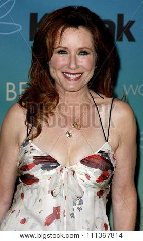 Mary McDonnell attends Women In Film Presents The 2007 Crystal and Lucy Awards held at the Beverly Hilton Hotel in Beverly Hills, California, California, on June 14, 2006.