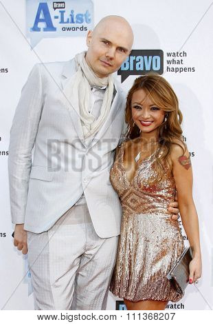05/04/2009 - Los Angeles - Billy Corgan (L) and Tila Nguyen at the Bravo's 2nd Annual A-List Awards held at the Orpheum Theater in Los Angeles, California, United States.