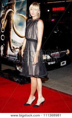 05/02/2008 - Hollywood - Maria Sharapova attends the US Premiere of