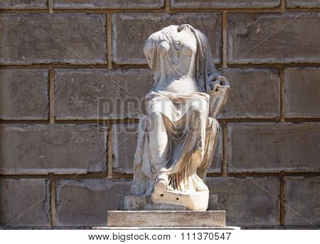 Woman Headless Statue, Rome, Italy