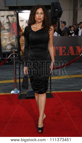 03/06/2010 - Hollywood - Minnie Driver at the World premiere of