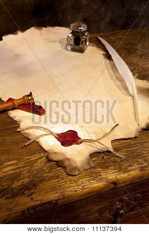 Empty Parchment
