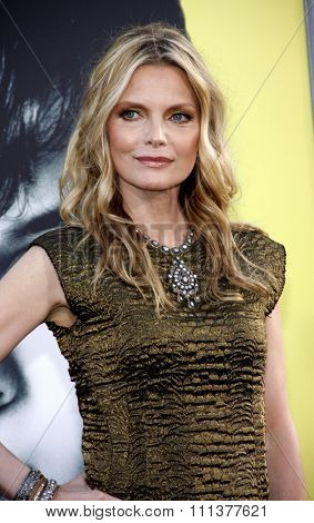 HOLLYWOOD, USA - MAY 7: Michelle Pfeiffer at the Los Angeles Premire of