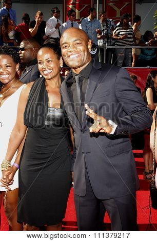 Anderson Silva at the 2012 ESPY Awards held at the Nokia Theatre L.A. Live in Los Angeles, United States, 11/07/12.