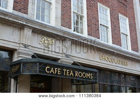 York, Betty's Tea Room