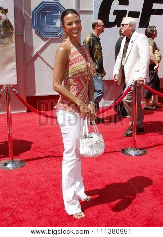 19/7/2009 - Hollywood - Eva LaRue at the Disney World Premiere of
